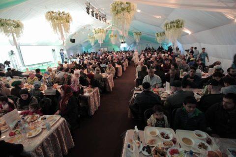 Вечер Духовного управления мусульман Москвы в «Шатре Рамадана»