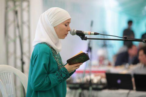 Вечер Союза мусульманок России в Шатре Рамадана