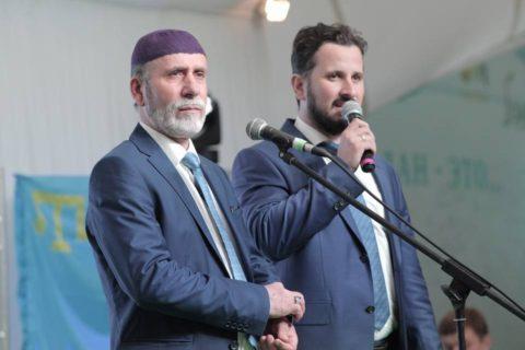 Вечер крымских татар в Шатре Рамадана