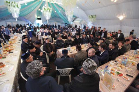 Вечер Чеченской Республики в Шатре Рамадана