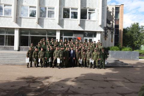 Военнослужащих мусульман поздравили с праздником Ураза байрам