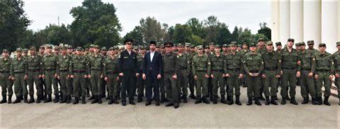 ДУМ Москвы поздравил военнослужащих с Курбан-байрамом