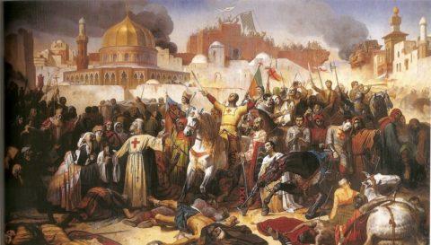 Мечеть аль-Акса во времена Крестовых походов