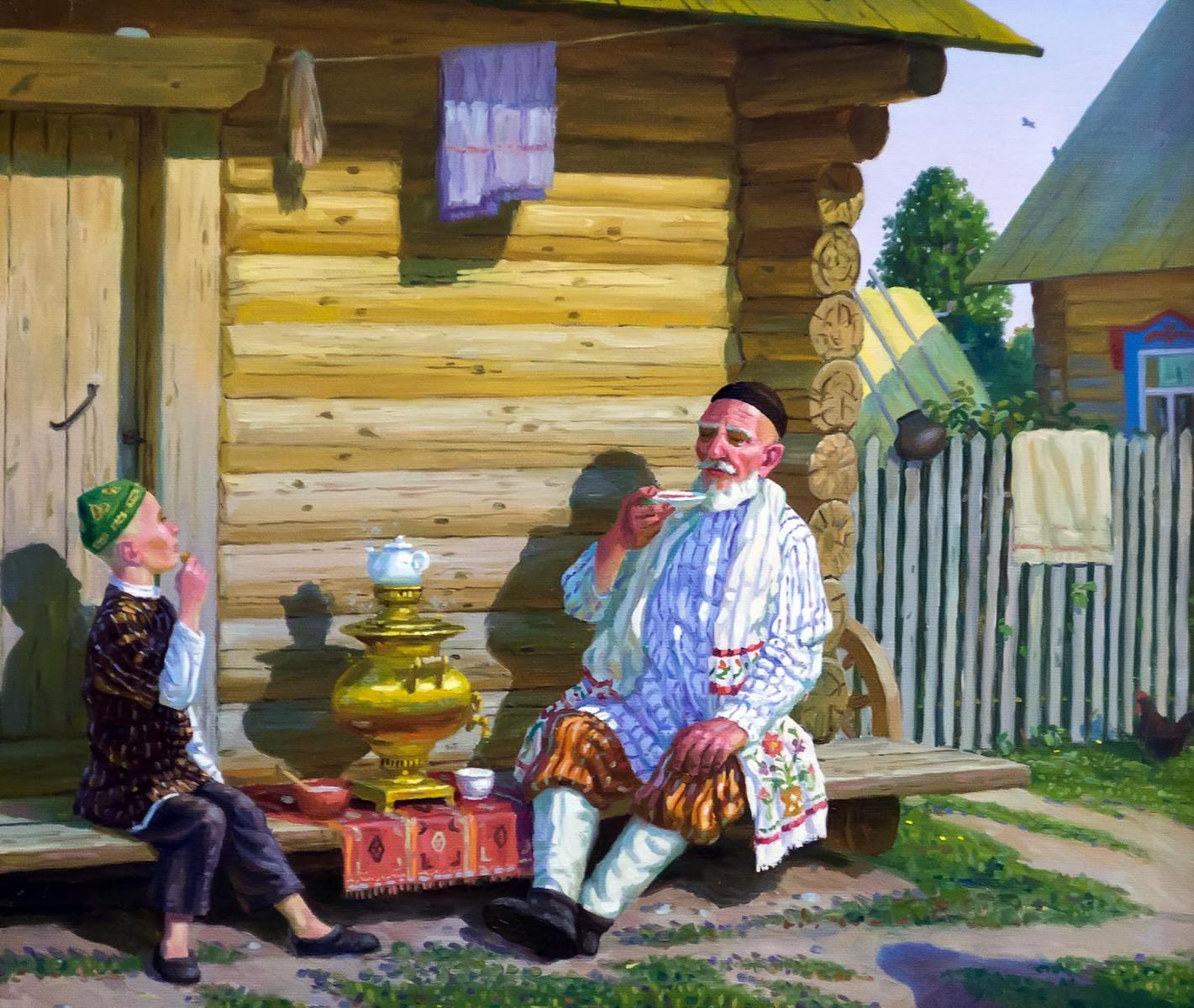 В Москве открылась выставка татарского художника Равиля Загидуллина