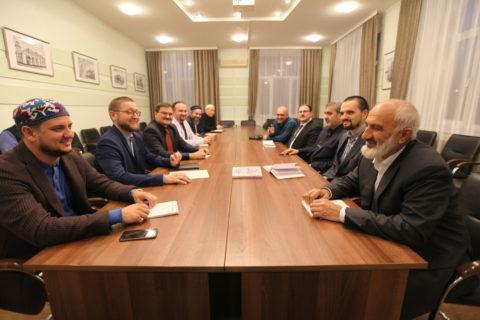 Ежеквартальное собрание ДУМ Москвы с представителями Мусульманских организаций столицы