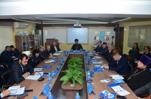 В академии ФСИН обсудили взаимодействие государственных и общественных институтов