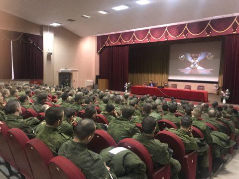 В Дивизии им. Дзержинского прошла встреча с военнослужащими