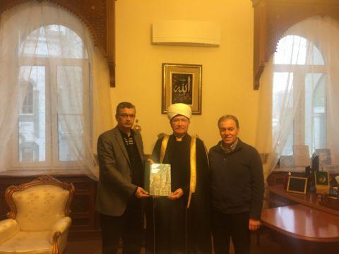 Муфтий Шейх Равиль Гайнутдин принял делегацию турецких парламентариев