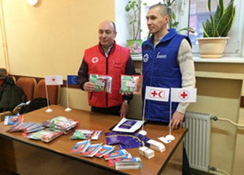 Российский Красный Крест и Благотворительный фонд «Закят» провели совместную акцию