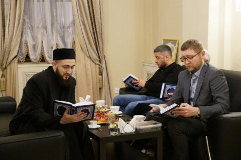Ильдар хазрат встретился с Муфтием Татарстана