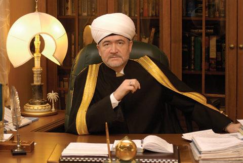 Муфтий Шейх Равиль Гайнутдин единогласно избран на пост Председателя Совета муфтиев России