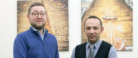 Встреча с советником по культуре полпредства Республики Башкортостан Азатом Маратовичем Гафуровым