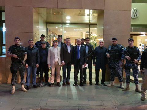 Делегация российских мусульман прибыла в Бейрут с гуманитарной миссией
