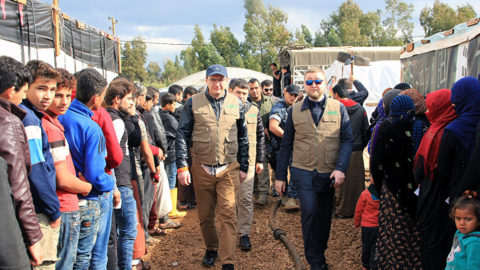 Война за поворотом: жизнь лагеря беженцев на границе Ливана и Сирии