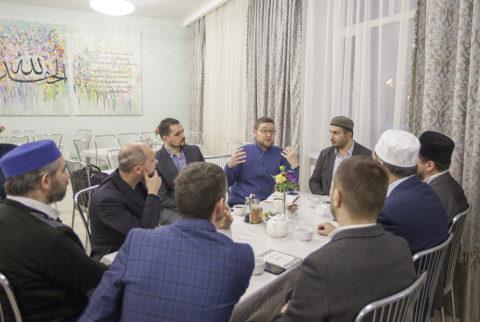 Муфтий Москвы встретился с представителями местных религиозных организаций