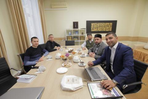 Муфтий Москвы встретился с представителями благотворительного фонда «Takaful»