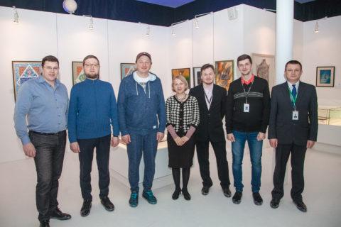 Ильдар Аляутдинов и Марат Башаров посетили Современный музей каллиграфии.