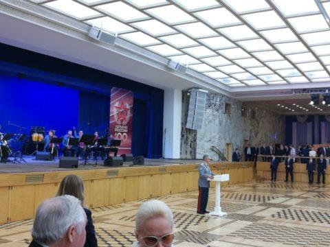 В Кремлёвском дворце состоялся праздничный концерт посвященный Дню защитника Отечества