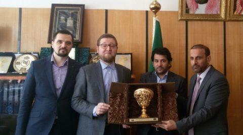 Муфтий Москвы посетил Саудовскую школу в Москве