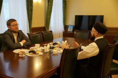 Ильдар Аляутдинов встретился с муфтием Республики Татарстан