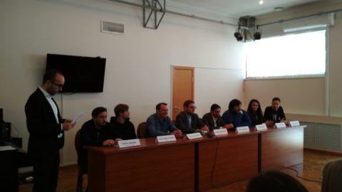 Организаторы и актеры спектакля «Разговор с Душой. За гранью» встретились с журналистами в Казани