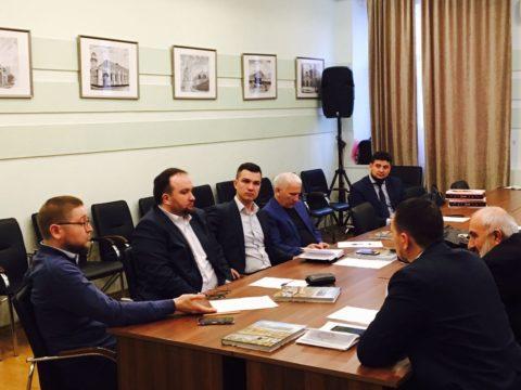 Ильдар Аляутдинов встретился с представителями местных религиозных организаций мусульман Москвы