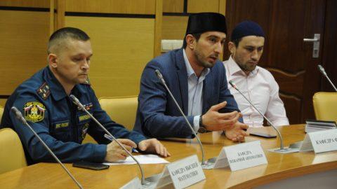 Представители ДУМ Москвы встретились с курсантами Академии ГПС Министерства РФ