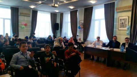 В КЦ «Дар» состоялась детская олимпиада среди учеников медресе «Академия талантов»