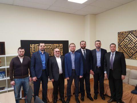 Ильдар Аляутдинов встретился с муфтием Сербии