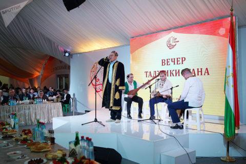 В «Шатре Рамадана» состоялся вечер Таджикистана