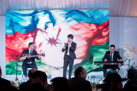 В Шатре Рамадана состоялся вечер Азербайджана