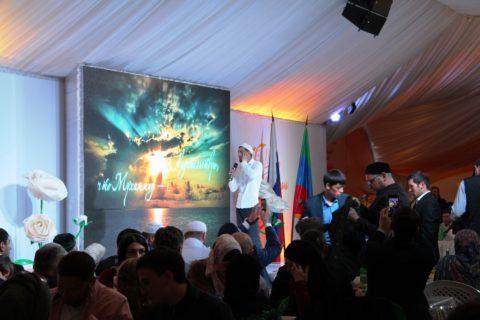 В «Шатре Рамадана» состоялся вечер Дагестана