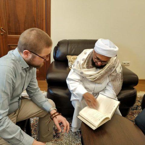 КЦ «Дар» посетил прямой потомок пророка Мухаммада (да благословит его Всевышний и приветствует)