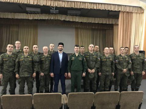 Представители ДУМ Москвы поздравили военнослужающих с Ураза-байрам