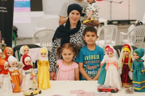 В Шатре Рамадана состоялась благотворительная ярмарка ShaterBazar
