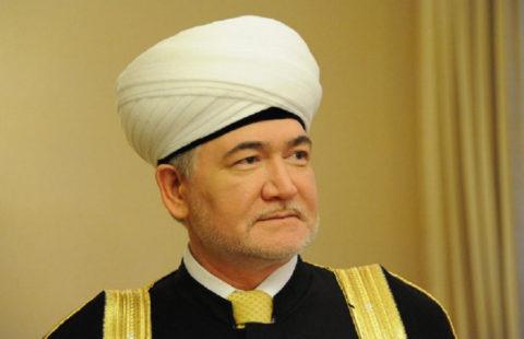 Поздравление духовному лидеру мусульман России Муфтию Шейху Равилю Гайнутдину