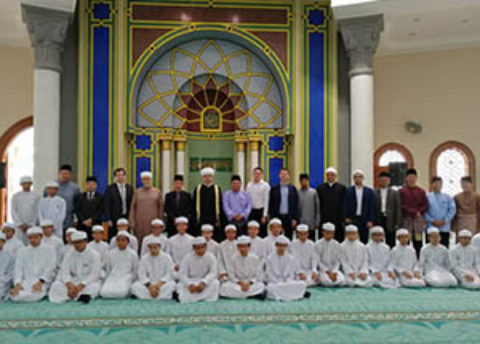 Делегация СМР посетила Институт изучения Корана имени Хассанала Болкиаха