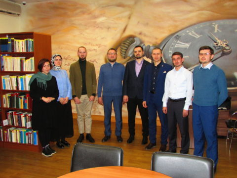 Ильдар-хазрат Аляутдинов встретился со стипендиатами