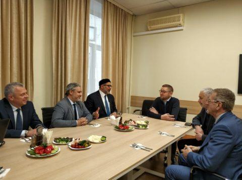 Культурный центр «Дар» посетил кандидат в президенты Ливии