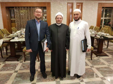 Ильдар Аляутдинов принял участие в конференции, проходящей в Каире