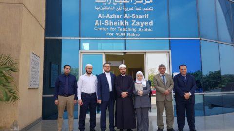 Ильдар-хазрат Аляутдинов посетил Всемирную ассоциацию выпускников университета аль-Азхар