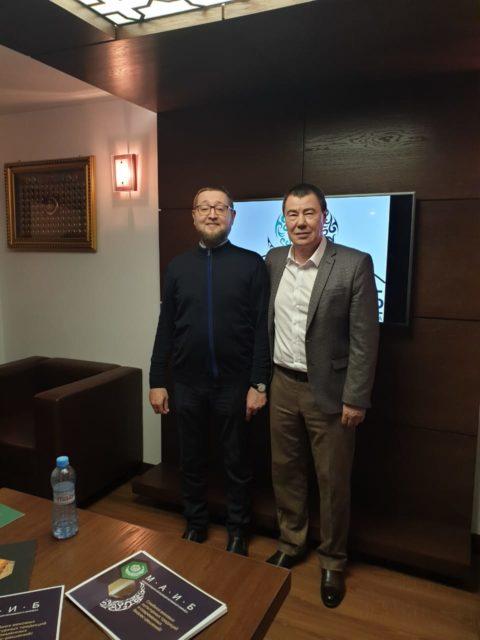 Ильдар-хазрат Аляутдинов встретился с президентом МАИБ Маратом Кабаевым