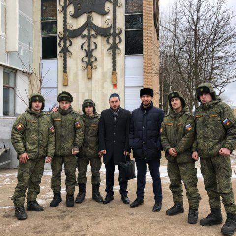 Представители ДУМ Москвы посетили 4 Гвардейскую Танковую Кантемировскую Дивизию города Наро-Фоминск