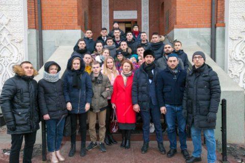 Курсанты Университета МВД России им. В.Я. Кикотя посетили Московскую Мемориальную мечеть