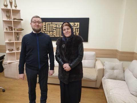 Встреча Ильдара-хазрата Аляутдинова с Хедой Саратовой