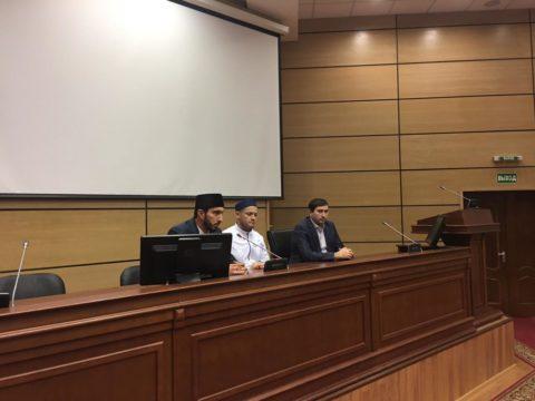 Руководитель отдела по работе с военнослужащими встретился со студентами Академии МЧС