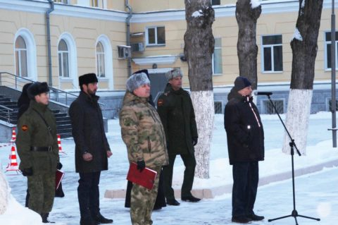 Руководитель отдела по работе с военнослужащими ДУМ Москвы посетил Центральный узел связи внутренних войск МВД России