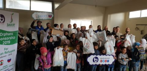 Делегация ДУМ Москвы и БФ «Закят» с гуманитарной миссией в Ливане