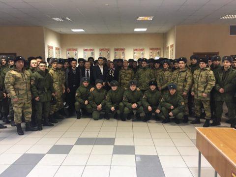 «Честь и достоинство в обществе» — очередная встреча с военнослужащими состоялась в г. Балашиха