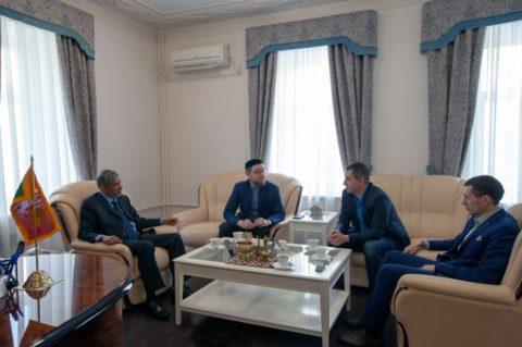 Встреча Ильдара Аляутдинова с чрезвычайным и полномочным послом Шри-Ланки